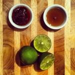 Pâte de Laksa, sauce poisson, jus de deux limes