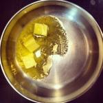 Soupe- faire fondre le beurre