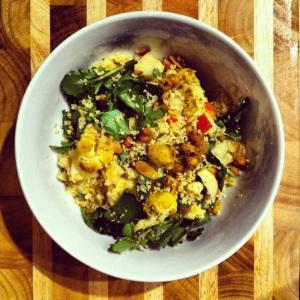 Salade de couscous remplie de saveurs