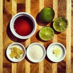 Marinade acidulée pour les légumes