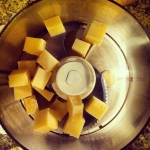 Pulser le parmesan quelques fois